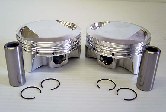 High Performance 1250cc Kit Sledge Hammer Pistons for Harley Davidson XL Sportster and Buell Models