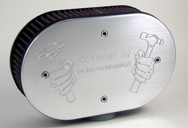 Exposed Element Air Cleaners for Harley Davidson XL Sportster Models