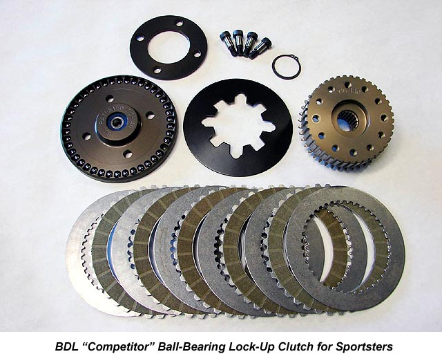 BDL Competitor Lock-Up Clutch Kit for Harley Davidson Sportsters