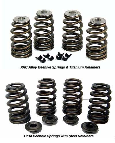 High Performance Beehive Valve Springs for Harley Davidson Sportster and Buell Models