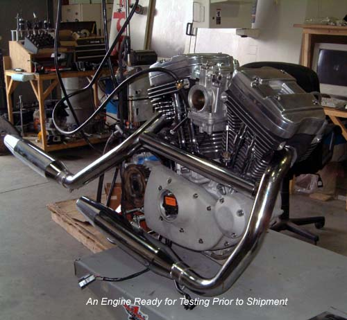 High Performance Harley Davidson XL Sportster Buell Engine Building