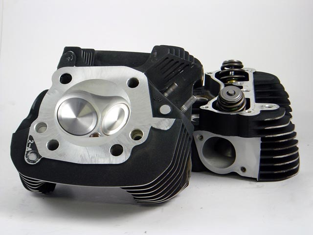 HAMMER PERFORMANCE CNC Ported XL1200 Sportster Cylinder Heads
