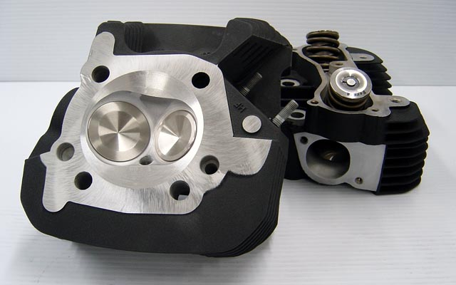 CNC Ported Buell XB Cylinder Heads