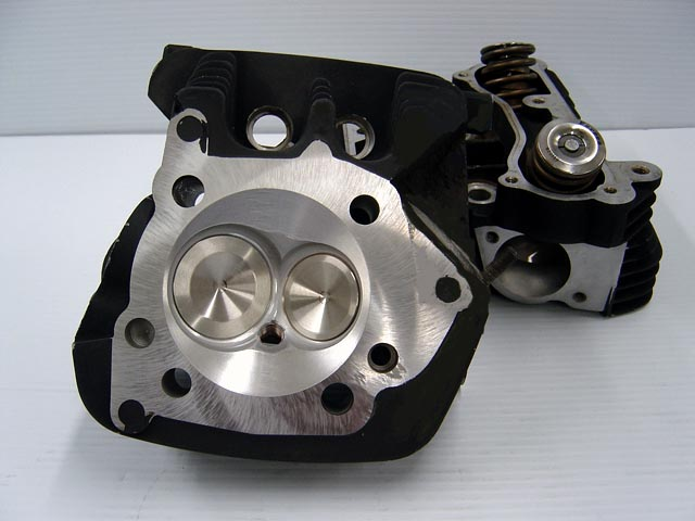 CNC Ported Buell XB12 Cylinder Heads