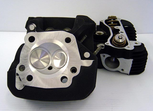 CNC Ported Sportster XL883 Heads