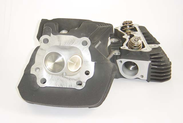 HAMMER PERFORMANCE SMASH CNC Ported Harley Twin Cam Cylinder Heads