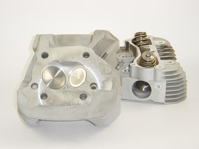 HAMMER PERFORMANCE CRUSH CNC Ported Harley Sportster Cylinder Heads