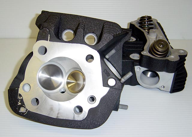 CNC Ported Harley Davidson XL883 Heads