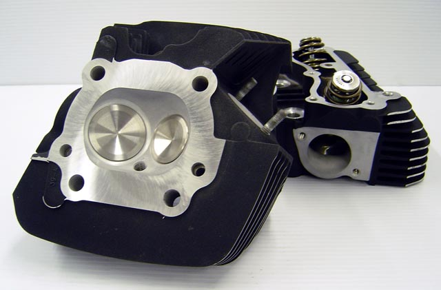 CNC Ported Harley Davidson Twin Cam Cylinder Heads