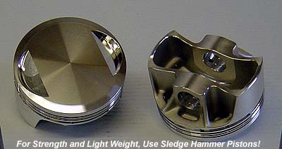Lightweight High Performance Forged Pistons for Harley Davidsons and Buells