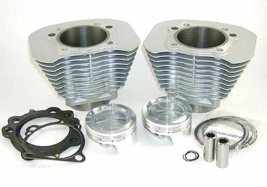 Silver 1250 Kit for High Performance Harley Davidson XL Sportster or Buell