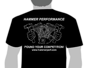 Hammer Performance T-Shirt Back