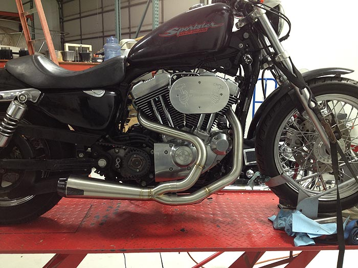 HAMMER PERFORMANCE picture of Two Brothers Racing Comp-S for XL Sportster
